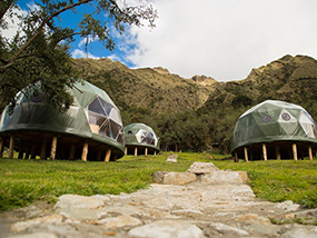 2 Nights Glamping in a Unique Dome at Peru Ecocamp, Cusco, Peru