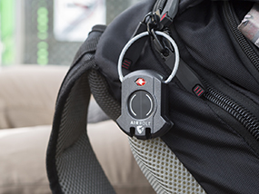 An AirBolt Lock - The Truly Smart Travel Lock