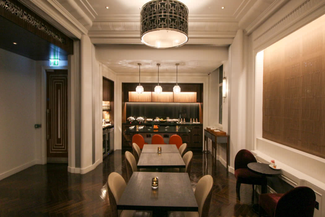 Club Lounge Review At The Sheraton Grand Park Lane, London