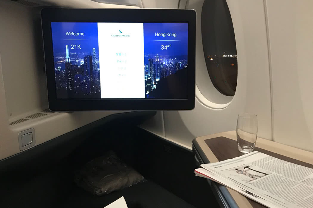 Flight Review: Cathay Pacific A350 Business Class HKG to ICN