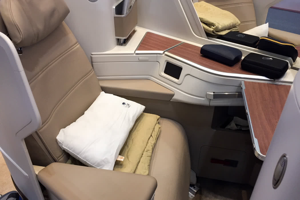 Flight Review: Saudia Airlines B777 Business Class Seats