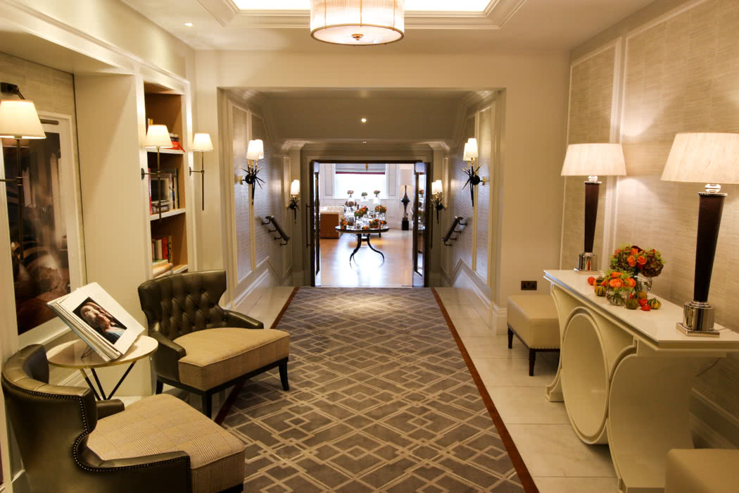 Langham London Club Lounge Review