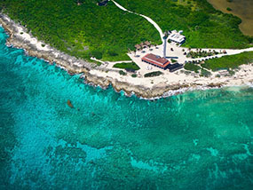 Cozumel Island Tour by Plane for 2 People in Cozumel, Mexico