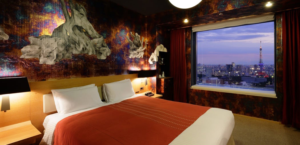 Top Five Coolest Hotels in Tokyo