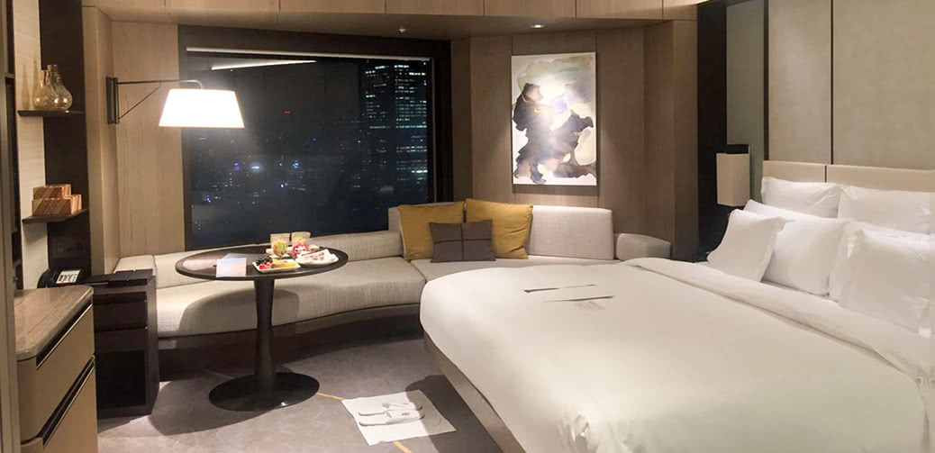 ANA InterContinental Tokyo Club Room Review