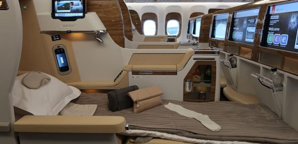 Exclusive Video: Emirates New Business Class Seats