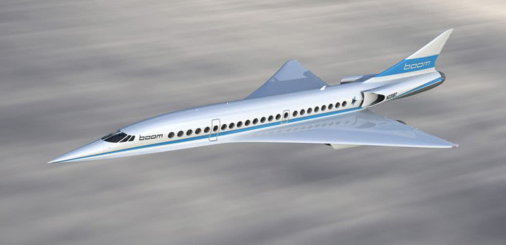 Fly JAL Supersonic New York To London In 3 Hours