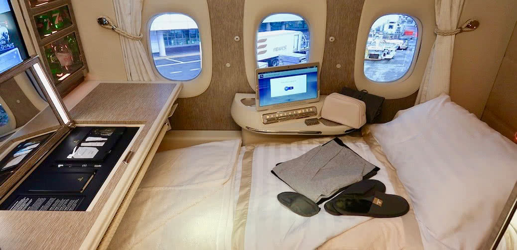 Insider Video: Step Inside Emirates First Class Suites With Virtual Windows & NASA Seats