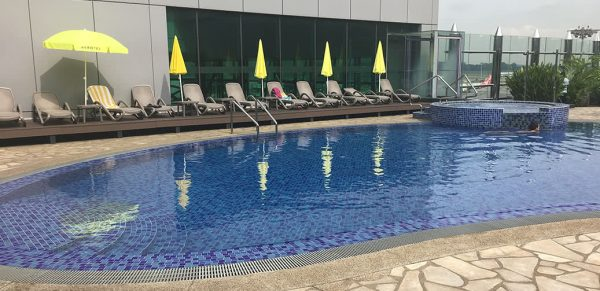 Layover At Changi Airport In Singapore? Why Not Go For A Swim!