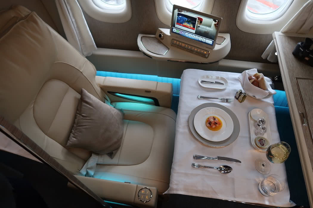 Picture Review Of Emirates' Insane New $5K+ First Class Suite