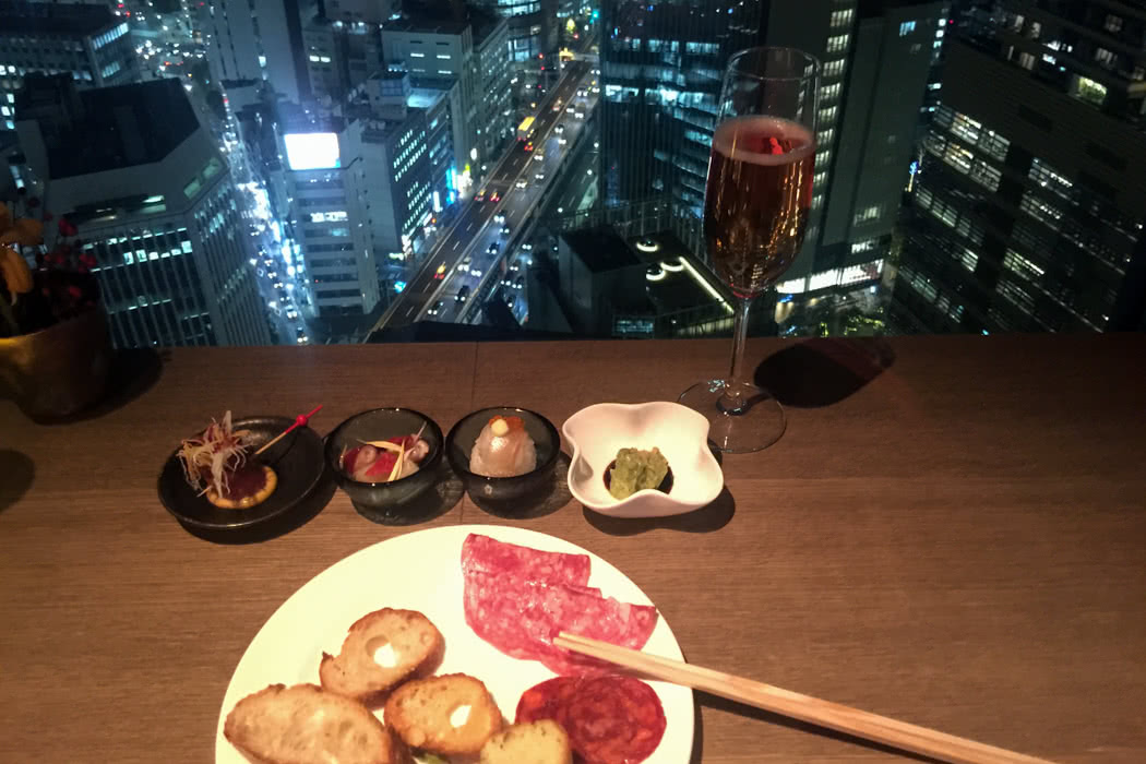 ANA InterContinental Tokyo Club Lounge Review