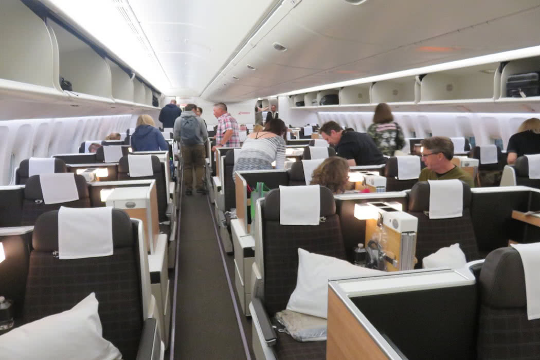 Flight Review: Swiss Boeing 777-300ER Business Class San Francisco to Zurich