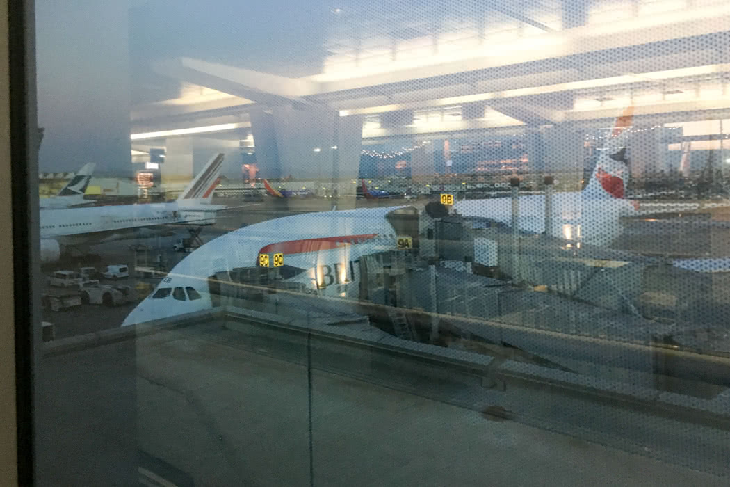 Review: British Airways First Class Airport Lounge San Francisco