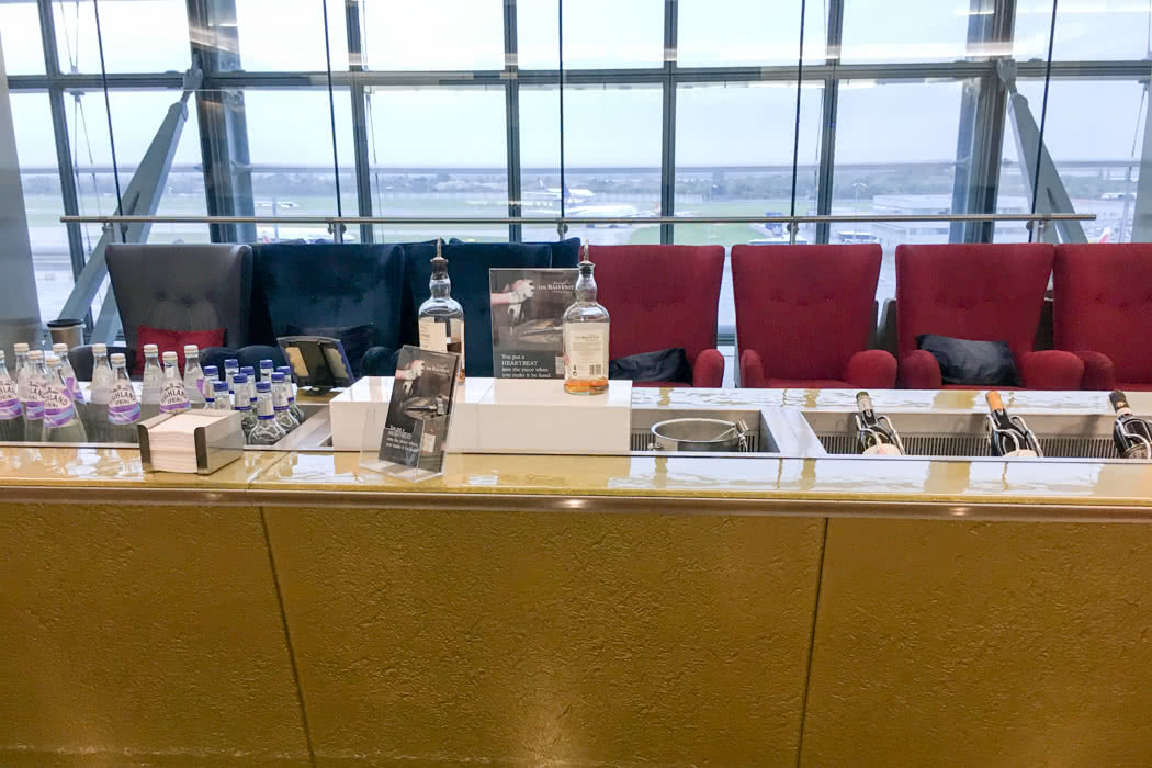 Review: British Airways Business Class Airport Lounge San Francisco