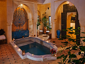 3 Nights at Riad Papillion in Marrakech, Morocco