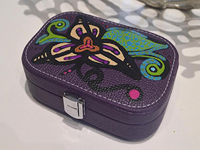 Limited Edition ART TO WEAR Collection Jewelry Travel Case