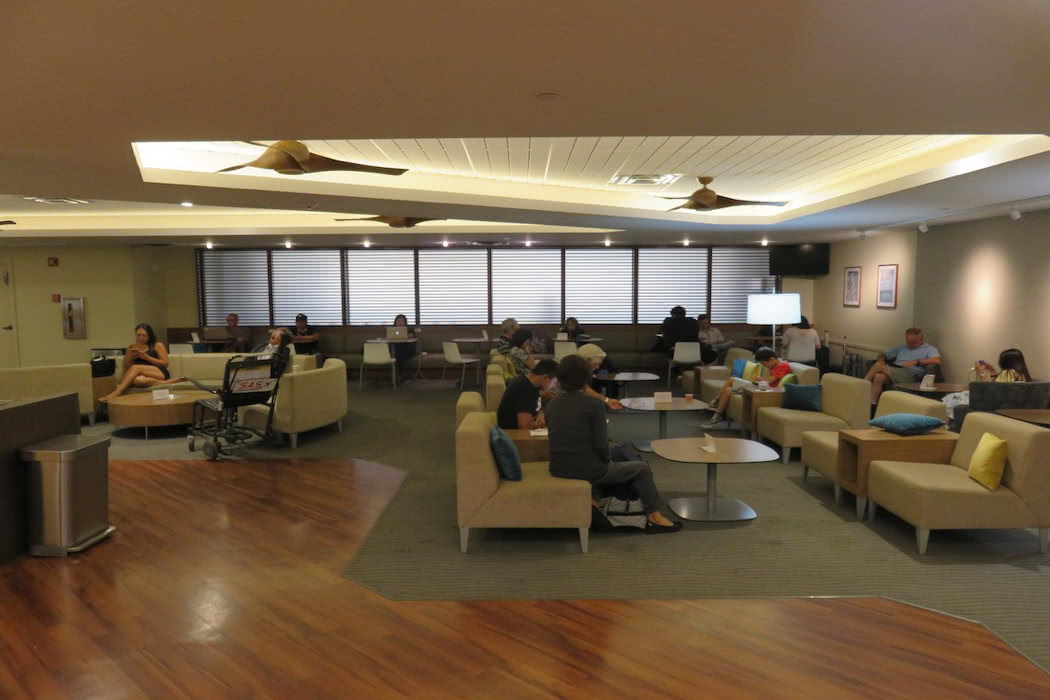 Hawaiian Airlines Lounge Review At Honolulu Airport