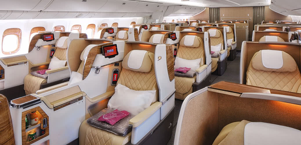Emirates Reveals New Business Class Seats