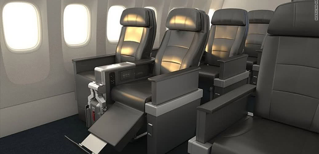 American Airlines Replaces Coach With More Premium Economy