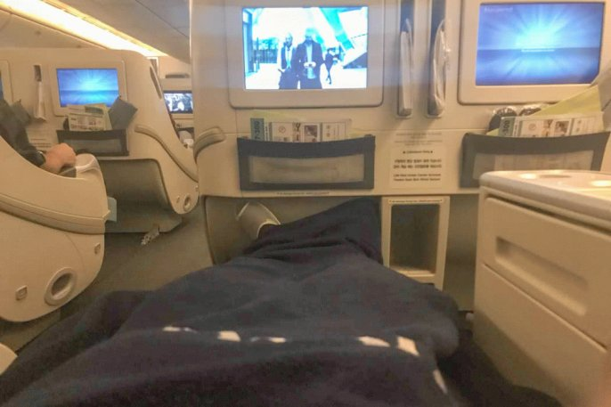 Flight Review: Korean Air B777-300 Business Class ICN to HKG