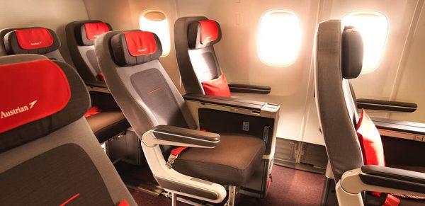 Review: Premium Economy On Austrian Airlines B777 & B767 Planes