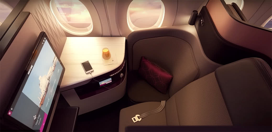 Qatar Airways Business Class Flight Reviews