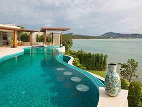 3 Nights For 8 Ppl In An Oceanfront Villa In Koh Samui, Thailand
