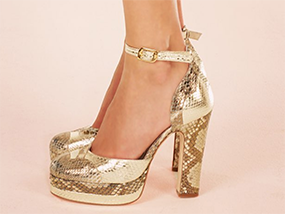 A Pair Of Terry de Havilland Shoes From Their New Collection