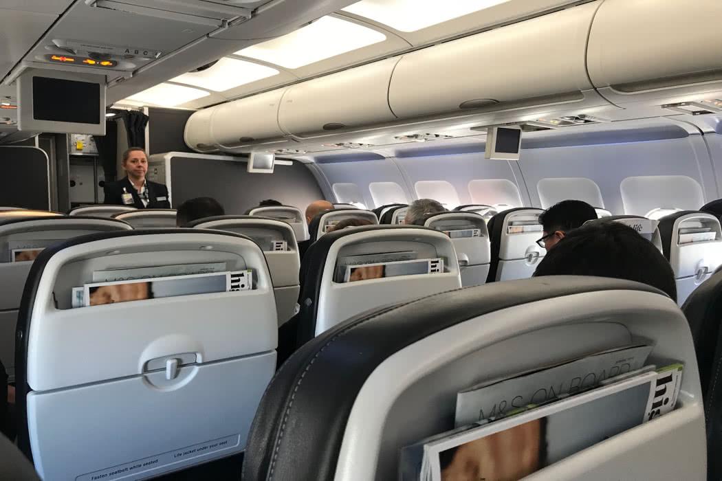 Flight Review: British Airways A231 Business Class Flight London Heathrow To Nice