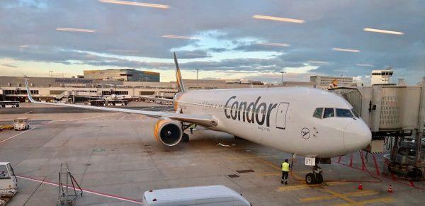 Flight Review: Condor Airlines Business Class B767 Frankfurt to Zanzibar
