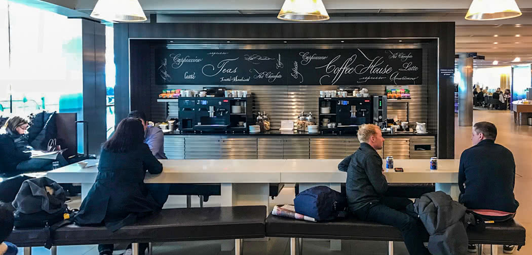 Is The Food In British Airways Business Class Lounges Any Good?