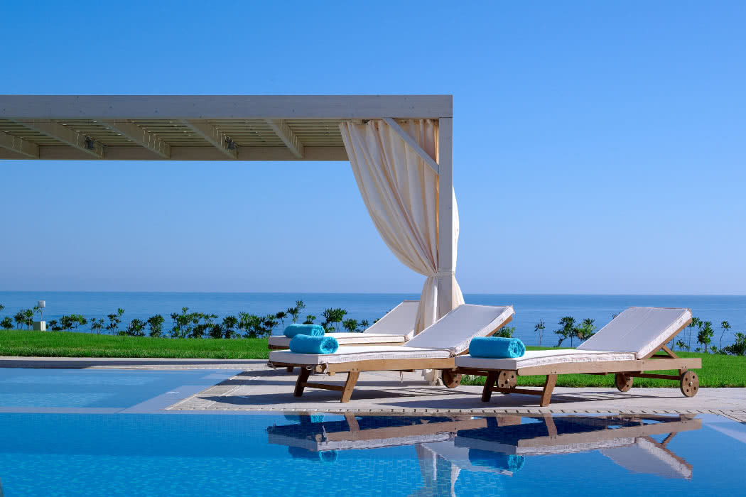 Hotel Review: A Heavenly Private Beach At The Royal Blue, Crete