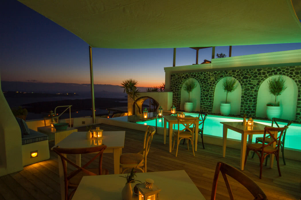 The best boutique hotels in santorini news luxury for Top luxury boutique hotels