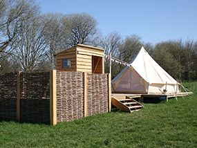 2 Nights Glamping for 4 People In Denbighshire, North Wales