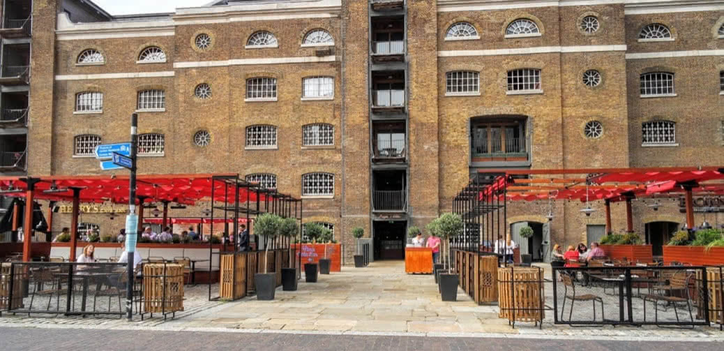 Best Alfresco Dining & Drinking Destinations in Canary Wharf