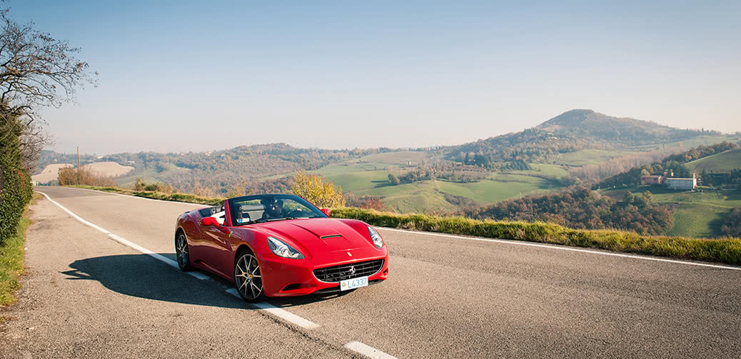 Make Your Summer Amazing: Drive A Ferrari Across Northern Italy