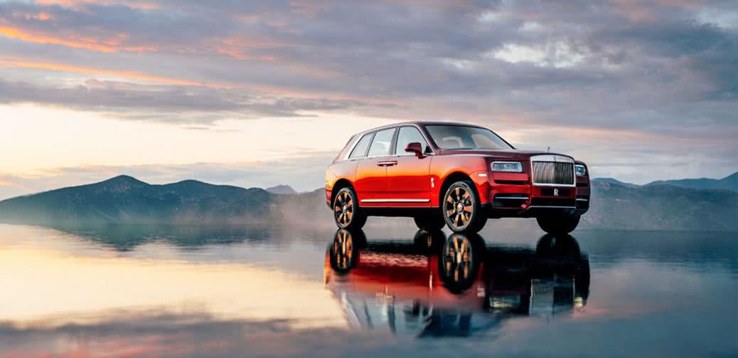 First Ever SUV from Rolls-Royce (& It Rocks)