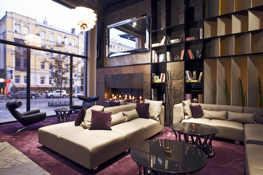 Hotel Review: 11 Mirrors, Kiev