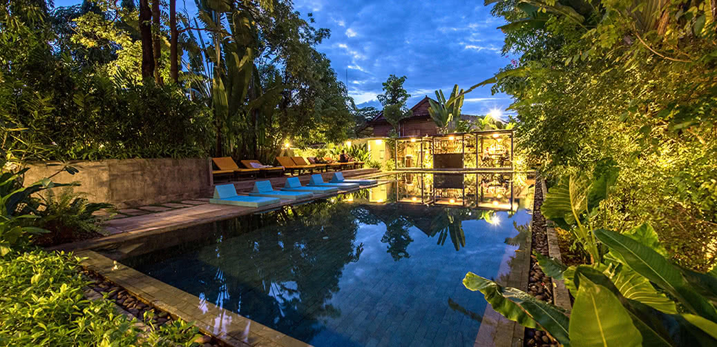 Hotel review eocambo residence siem reap hotels for Very small luxury hotels