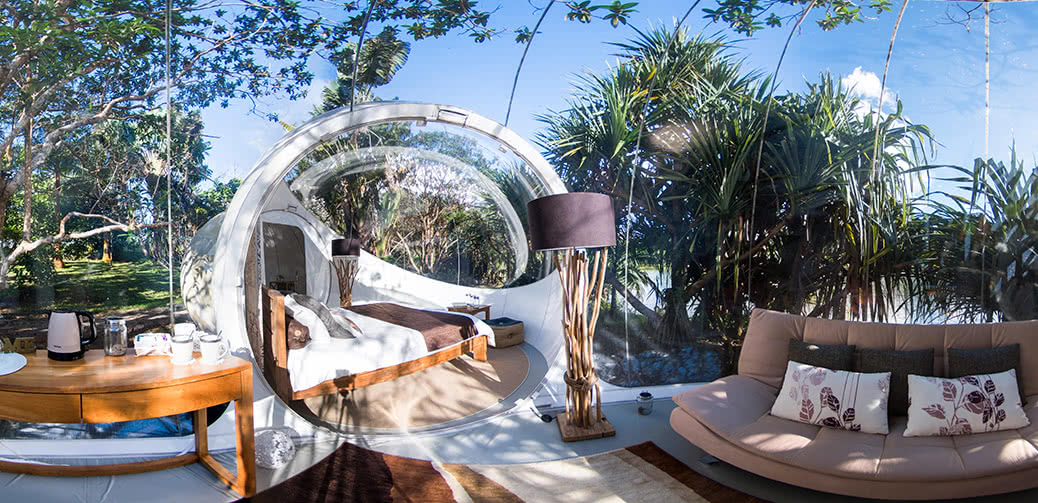 Sleep Under The Stars In A Bubble!