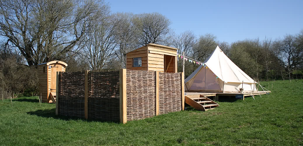 The Forge: Luxury Glamping In An Area Of Outstanding Natural Beauty