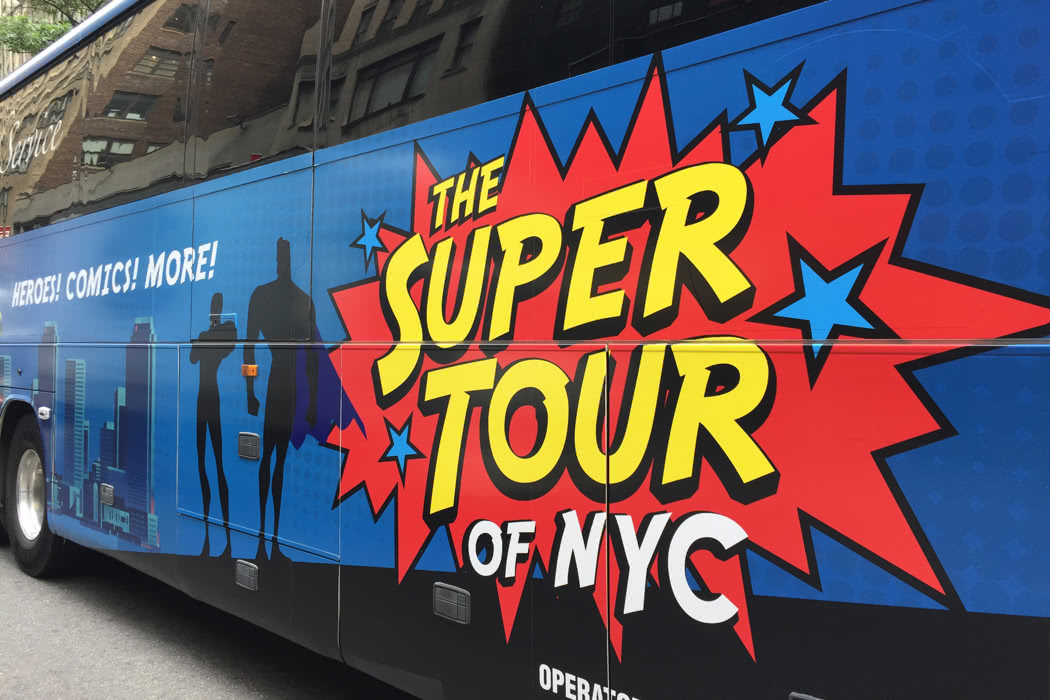 The Ultimate New York Tour For Superhero Fans