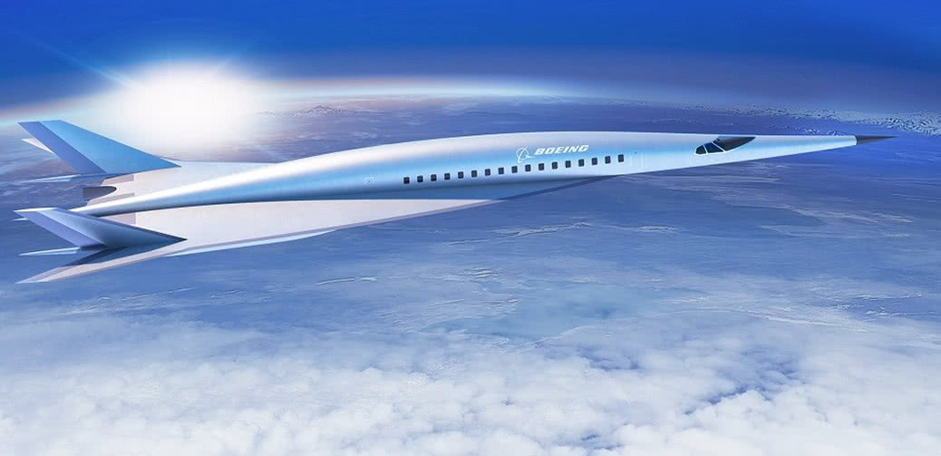 Boeing Hypersonic Jet Will Fly You New York To London In 2 Hours!