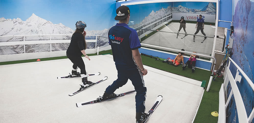Review: Skieasy London's Original Indoor Ski Slope In Chiswick