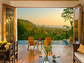 2 Nights At Casa Chameleon Hotel At Mal Pais In Costa Rica