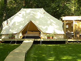 1 Night Glamping with Dinner Near Henley On Thames, Berkshire