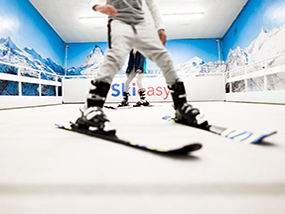 1 Hour Private Intensive Ski Lesson in London for 4 People