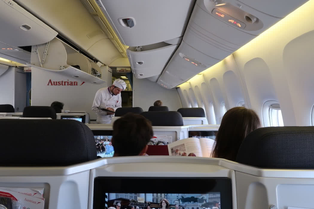 Flight Review: Austrian Airlines B777 Business Class Colombo to Vienna