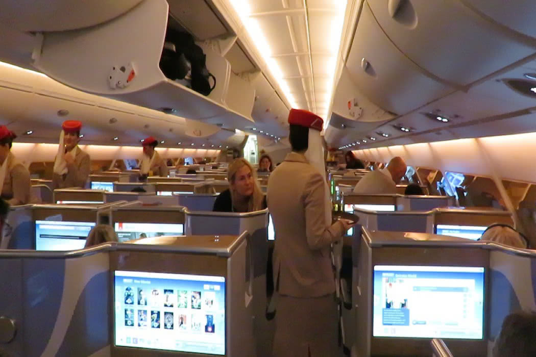 Flight Review: Emirates A380 Business Class Düsseldorf To Dubai
