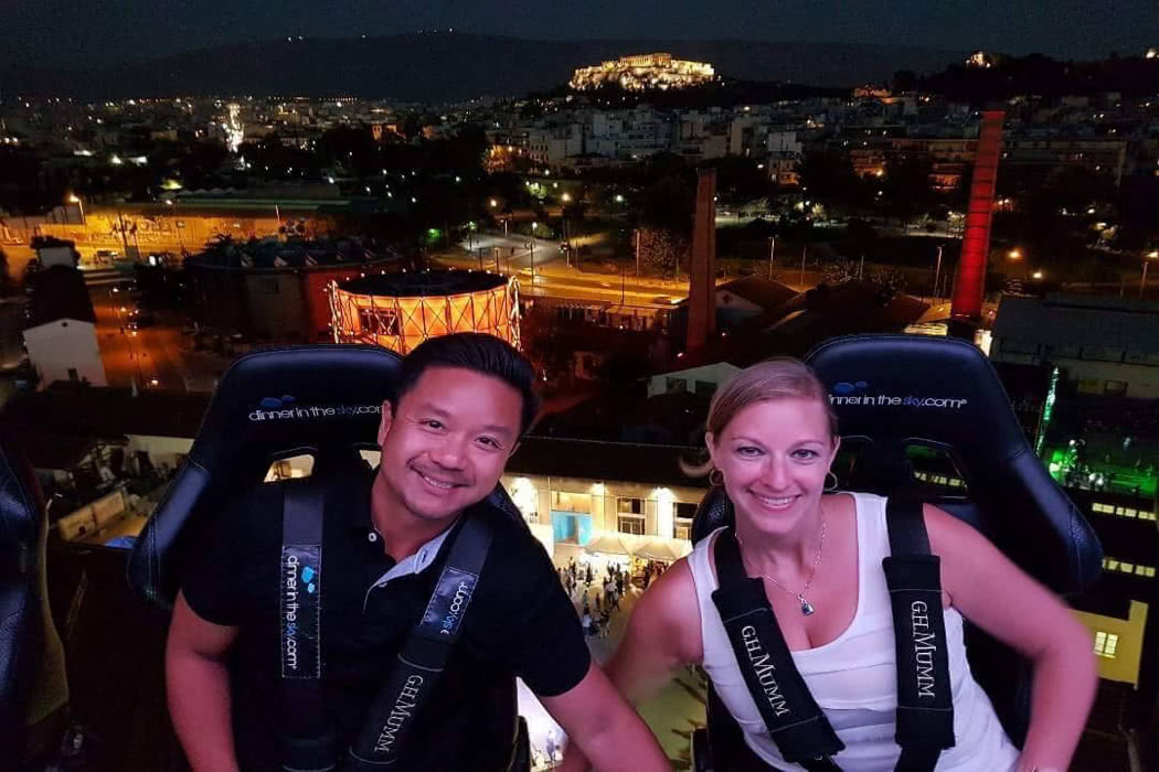 Review: Dinner in the Sky In Athens